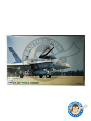Hasegawa: Airplane kit 1/48 scale - McDonnell Douglas F/A-18 Hornet D