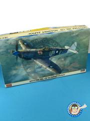 Hasegawa: Airplane kit 1/48 scale - Supermarine Spitfire Mk. VIII - Guadalcanal 1945 - plastic model kit
