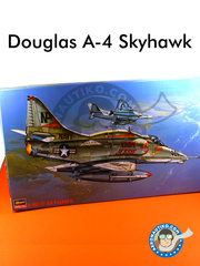Hasegawa: Airplane kit 1/32 scale - Douglas A-4 Skyhawk E/F - USAF (US1) - different locations - plastic model kit image