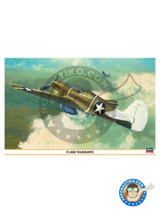 Hasegawa: Airplane kit 1/32 scale - Curtiss P-40 Warhawk M