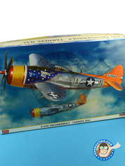 Hasegawa: Airplane kit 1/32 scale - Republic P-47 Thunderbolt D Bubble Top 1945 - plastic model kit