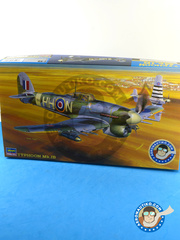Hasegawa: Airplane kit 1/48 scale - Hawker Typhoon Mk Ib - Germany, July 1945 (GB4); March 1944 (GB4) - plastic model kit image
