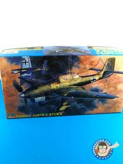 Hasegawa: Airplane kit 1/48 scale - Junkers Ju-87 Stuka B-2 - plastic model kit