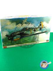 Hasegawa: Airplane kit 1/48 scale - Focke-Wulf Fw 190 Würger A-3 / A-4 - plastic model kit