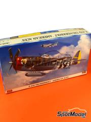 Hasegawa: Airplane kit 1/48 scale - Republic P-47 Thunderbolt D - Guadalcanal - plastic model kit