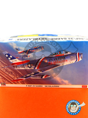 Hasegawa: Airplane kit 1/48 scale - North American F-86 Sabre F-35 - plastic model kit