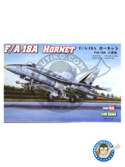 Hobby Boss: Airplane kit 1/48 scale - McDonnell Douglas F/A-18 Hornet