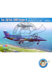 Hobby Boss: Airplane kit 1/48 scale - Yakovlev Yak-38