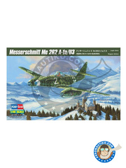Hobby Boss: Airplane kit 1/48 scale - Messerschmitt Me 262 Schwalbe A-1a / U2 (V056)