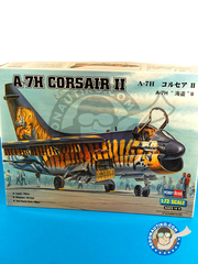 Hobby Boss: Airplane kit 1/72 scale - Ling-Temco-Vought A-7 Corsair II H - plastic parts, water slide decals and assembly instructions