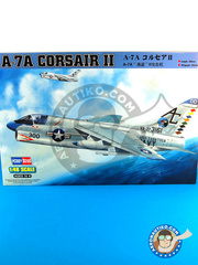 Hobby Boss: Airplane kit 1/48 scale - Ling-Temco-Vought A-7 Corsair II A-7A - plastic model kit