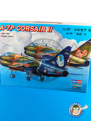Hobby Boss: Airplane kit 1/72 scale - Ling-Temco-Vought A-7 Corsair II P - plastic model kit image
