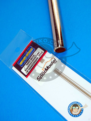 Hobby Design: Material - Stainless steel tube 0.4mm x 200mm - 5 units