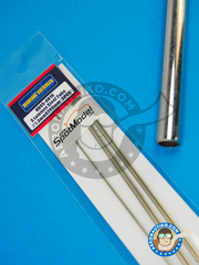 Hobby Design: Material - Stainless steel tube 1.3mm x 200mm - 5 units
