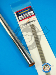 Hobby Design: Material - Stainless steel tube 1.4mm x 200mm - 5 units