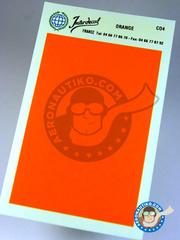 Interdecal: Decals - 75 x 110 mm Orange