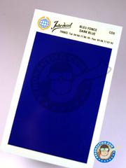 Interdecal: Decals - 75 x 110 mm dark blue