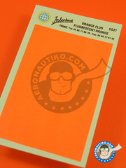Interdecal: Decals - Fluorescent orange RAL2007