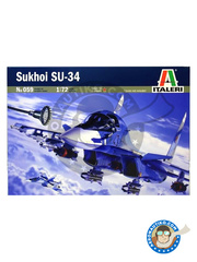 Italeri: Airplane kit 1/72 scale - Sukhoi Su-34 - plastic model kit