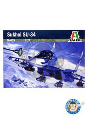 Italeri: Airplane kit 1/72 scale - Sukhoi Su-34 - plastic model kit