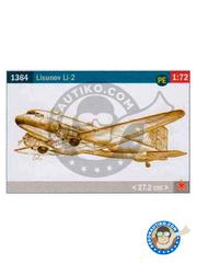 Italeri: Airplane kit 1/72 scale - Lisunov Li-2 - plastic model kit