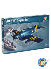 Italeri: Airplane kit 1/48 scale - Douglas A-1 Skyraider AD-4W - plastic model kit image