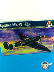 Italeri: Airplane kit 1/72 scale - Supermarine Spitfire Mk. VI - RAF - plastic model kit