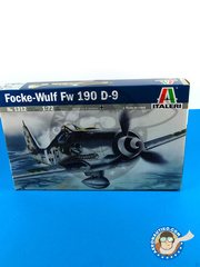 Italeri: Airplane kit 1/72 scale - Focke-Wulf Fw 190 Würger D-9 - Guadalcanal - plastic model kit