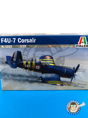 Italeri: Airplane kit 1/72 scale - Vought F4U Corsair 7 - Guadalcanal - plastic model kit