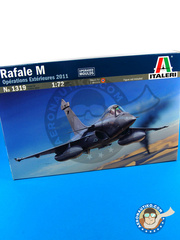 Italeri: Airplane kit 1/72 scale - Dassault Rafale M - plastic model kit
