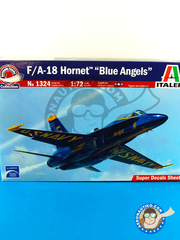 Italeri: Airplane kit 1/72 scale - McDonnell Douglas F/A-18 Hornet - plastic model kit