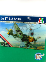 Italeri: Airplane kit 1/48 scale - Junkers Ju-87 Stuka B-2 - Guadalcanal - plastic model kit