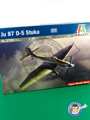 Italeri: Airplane kit 1/48 scale - Junkers Ju-87 Stuka D-5 - Guadalcanal - plastic model kit