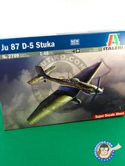Italeri: Airplane kit 1/48 scale - Junkers Ju-87 Stuka D-5 - RAF - plastic model kit