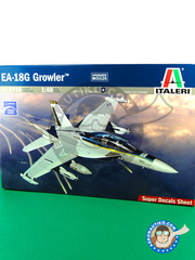 Italeri: Airplane kit 1/48 scale - McDonnell Douglas F/A-18 Hornet G Growler - plastic model kit
