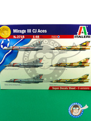 Italeri: Airplane kit 1/48 scale - Dassault Mirage III CJ Aces - plastic model kit