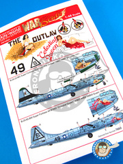 Kits World: Decals 1/48 scale - Boeing B-29 Superfortress - USAF (US7); USAF (US0) - Guadalcanal 1945 and 1951