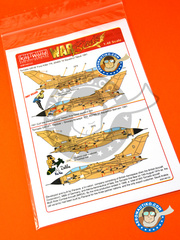 Kits World: Marking / livery 1/48 scale - Panavia Tornado GR. 1 - RAF (GB2) - Gulf War 1991 - water slide decals and assembly instructions - for Airfix reference 08102