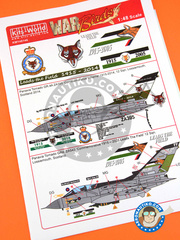 Kits World: Marking / livery 1/48 scale - Panavia Tornado GR. 4 - RAF (GB1) 2014 - water slide decals and assembly instructions - for Airfix reference 08105, or Revell reference REV04924