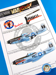 Kits World: Marking / livery 1/72 scale - North American P-51 Mustang D - USAF (US7) 1944
