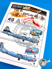 Kits World: Decals 1/72 scale - B-29 Superfortress