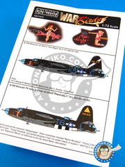 Kits World: Decals 1/72 scale - Martin B-26 Marauder B - USAF (US7)