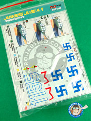 Kora Models: Marking / livery 1/48 scale - Junkers Ju-88 A-4 - water slide decals - for all kits image