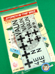 Kora Models: Decals 1/48 scale - Fieseler Fi 156 Storch