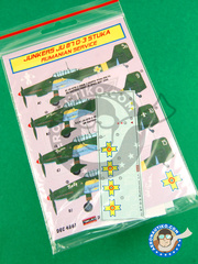 Kora Models: Decals 1/48 scale - Junkers Ju-87 Stuka D-3 - for Italeri kit