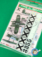 Kora Models: Marking / livery 1/48 scale - Arado Ar 196 A-3 - water slide decals and placement instructions