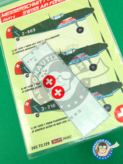 Kora Models: Decals 1/72 scale - Messerschmitt Bf 109 D - Part I