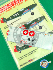 Kora Models: Decals 1/72 scale - Messerschmitt Bf 109 D - Part II