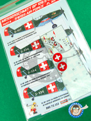 Kora Models: Decals 1/72 scale - Messerschmitt Bf 109 E-3 - Part III