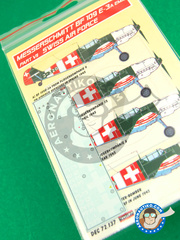 Kora Models: Decals 1/72 scale - Messerschmitt Bf 109 E-3 - Part VII